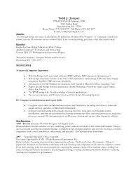 computer proficiency resume skills examples computer skills resume example