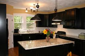 color schemes dark cabinets ceiling decorations kitchen awesome black cabinets small wood dark kitchen cra