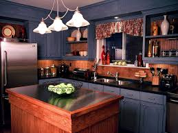 blue kitchen cabinets small painting color ideas:  elegant blue kitchen cabinets with minimalist new kitchen cabinet ideas black countertops and large