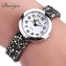 <b>Duoya</b> Brand Watches Women Fashion Casual <b>Crystal Rhinestone</b> ...