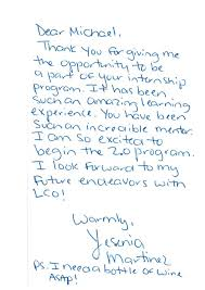 thank you letter after internship completion of our pet s internship thank you note