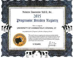 department of animal science university of connecticut the uconn dairy herd was awarded a 2015