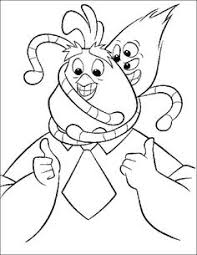 Small Picture Chicken Little And Friend Watch Theatre Coloring Page Disney