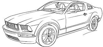 Small Picture Coloring Page Of Cars Car Coloring Pages Free Printable