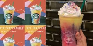 Starbucks to launch <b>Tie</b>-<b>Dye</b> Frappuccino on July 10 - Business Insider