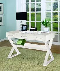 white office desk cst 800912 coaster furniture 800912 the classy home casual office cabinets
