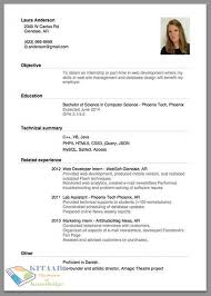 top  easy sample how to write job resume   essay and resumehow to write job resume with objective education and technical summary free download
