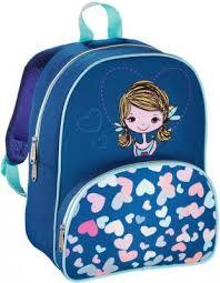 Дошкольный рюкзак <b>HAMA Lovely Girl голубой</b> синий 00139103 ...
