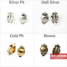 (<b>30Pcs</b>=1Lot ! ) <b>Free Shipping</b> Half Ball Pad Clip On Earring Jewelry ...