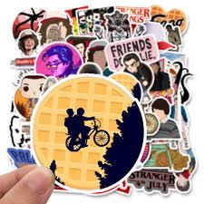 50pcs/<b>lot Stranger</b> Things Stickers <b>American</b> cartoon <b>Movie</b> For Car ...
