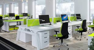 green office desk. the most used kind of furniture for office use is it important green desk