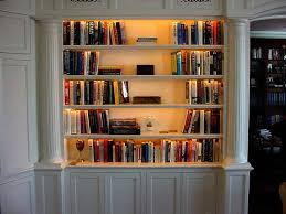 under shelf lighting. installing under shelf lighting office bookcase with picture light
