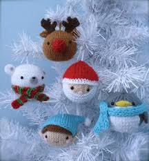 Amigurumi Knit <b>Christmas</b> Balls Ornament Pattern Set Digital ...