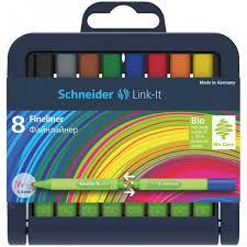 <b>Schneider Набор капиллярных</b> ручек Link-It 8 цветов ...
