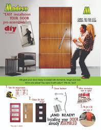 prehung doors madecopr diy do it yourself pre hung doors flyers ingles