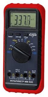 <b>Мультиметр ELITECH ММ 500</b> красный/черный купить, цены в ...