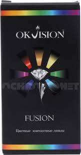 <b>Контактные линзы Fusion</b> 2 <b>Цветные</b> Квартальные купить ...