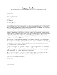 business analyst cover letters cover business  seangarrette co   entry level analyst cover letter example