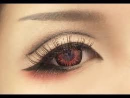 tutorial anime eye makeup 1
