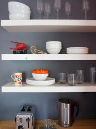 Kitchen Open Shelves Images Of Beautifully Organized Open Kitchen Shelving Diy