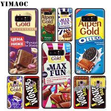 <b>YIMAOC</b> Alpen <b>Wonka</b> Chocolate <b>Bar</b> Soft Silicone Case for Xiaomi ...