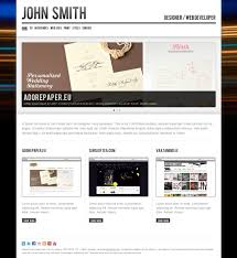 john smith personal cv portfolio website template by odincov 01 screenshot jpg