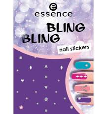 <b>essence bling bling nail stickers</b> 1pcs <b>Nail Stickers</b>