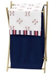 Sweet Jojo Designs <b>Red</b>, <b>White</b> and Blue <b>Baby Kid</b> Clothes Laundry ...