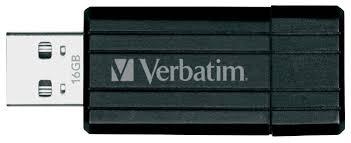 <b>Флеш диск Verbatim 16Gb PinStripe</b> 49063 USB2.0 Black купить в ...