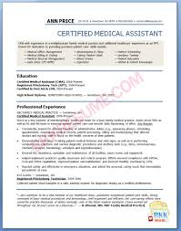best photos of medical assistant graduate resume sample medical medical assistant resume samples