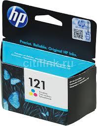 <b>Картридж HP 121</b>, многоцветный [<b>cc643he</b>]