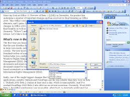 microsoft office beta review office content from microsoft office word 2003