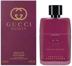<b>Gucci Guilty Absolute pour</b> Femme EdP 50ml in duty-free at airport ...