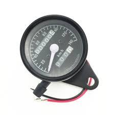 Unviersal Retro <b>Motorcycle Speedometer</b> Tachometer Led ...