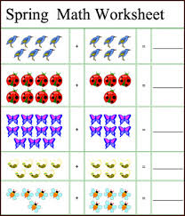 Printable Adding And Subtracting Worksheets For Kindergarten ...Kindergarten Addition And Subtraction Printable Worksheets The. Free Printable Spring Math Worksheets Language Arts Lesson Plans