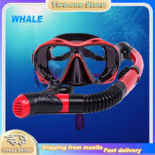 WHALE Professional <b>Diving Scuba</b> Gear Swimming Mask Snorkel ...
