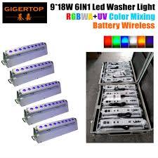5IN1 Road Case Packing + <b>5XLOT</b> D Fi Wireless <b>DMX</b> RGBWA UV ...