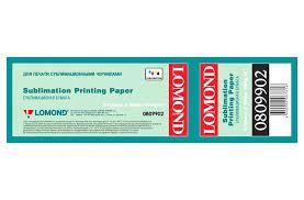 <b>Сублимационная бумага LOMOND</b> (100г/м2), рулон 100 метров ...