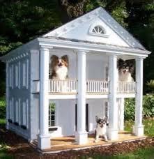 Story Dog House Plans   VAlineDog House Mansion