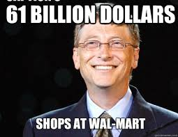 61 billion dollars shops at wal-mart Caption 3 goes here - BILL ... via Relatably.com