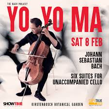 <b>Yo</b>-<b>Yo Ma's</b> Bach Project at Kirstebosch - SANBI