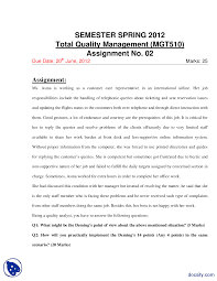 deming s points and quality management management assignment the document