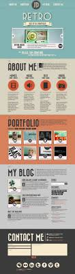 best ideas about online portfolio site retro themed online portfolio design for the web i like the flat coloring