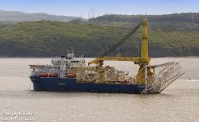 AKADEMIK CHERSKIY (Pipe Layer) Registered in Russia - Vessel ...