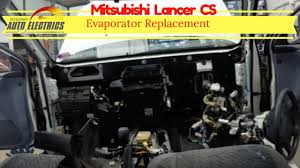 mitsubishi lancer cs evaporator replacement dash out auto mitsubishi lancer cs evaporator replacement dash out auto electrician sunshine coast car air conditi