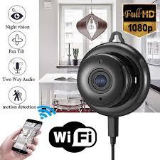 <b>Mayitr 1pc Full</b> HD 1080P Mini Wireless WIFI IP Camera Night ...