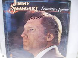jimmy swaggart lp signed autograph sealed somewhere listenin  this is an authentically autographed sealed lp by jimmy swaggart