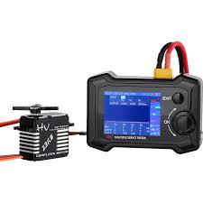ToolkitRC ST8 8CH 100W 2A 7-28V LCD Servo Special Tester ...