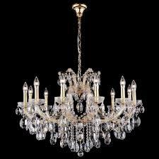Хрустальная <b>люстра Crystal Lux HOLLYWOOD</b> SP12 GOLD ...