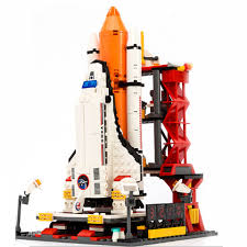 Building Toy Sets & Packs <b>City Spaceport Space</b> The Shuttle ...